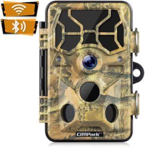 Campark Trail Camera WiFi 20MP 1296P under $100